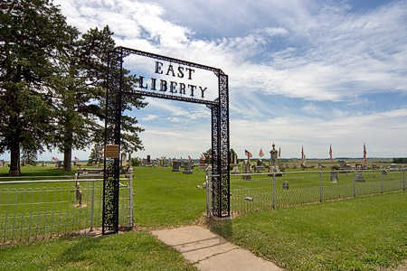 EAST LIBERTY, CEMETERY - Mills County, Iowa | CEMETERY EAST LIBERTY