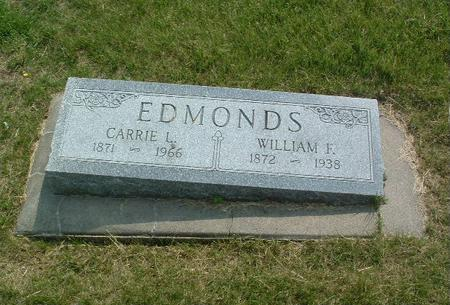 EDMUNDS, WILLIAM F. - Mills County, Iowa | WILLIAM F. EDMUNDS