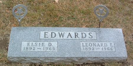 EDWARDS, ELSIE D. - Mills County, Iowa | ELSIE D. EDWARDS