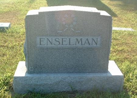 ENSELMAN, FAMILY HEADSTONE - Mills County, Iowa | FAMILY HEADSTONE ENSELMAN