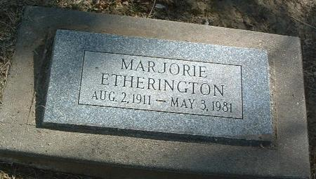 ETHERINGTON, MARJORIE - Mills County, Iowa | MARJORIE ETHERINGTON