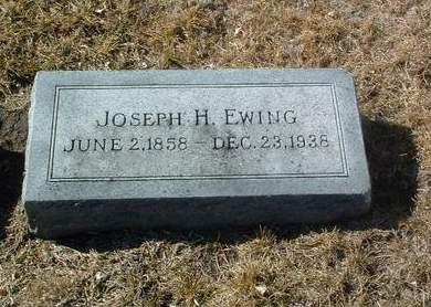 EWING, JOSEPH H. - Mills County, Iowa | JOSEPH H. EWING