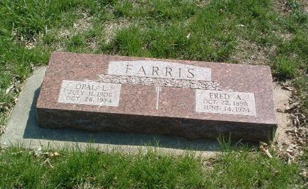 FARRIS, FRED A. - Mills County, Iowa | FRED A. FARRIS