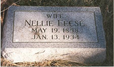 FEESE, ELANOR L (NELLIE) - Mills County, Iowa | ELANOR L (NELLIE) FEESE