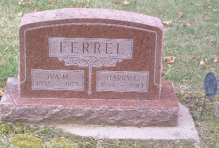 FERREL, IVA M. - Mills County, Iowa | IVA M. FERREL