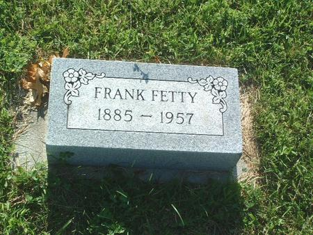 FETTY, FRANK - Mills County, Iowa | FRANK FETTY