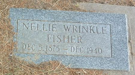 WRINKLE FISHER, NELLIE - Mills County, Iowa | NELLIE WRINKLE FISHER