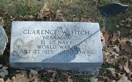 FITCH, CLARENCE W. - Mills County, Iowa | CLARENCE W. FITCH