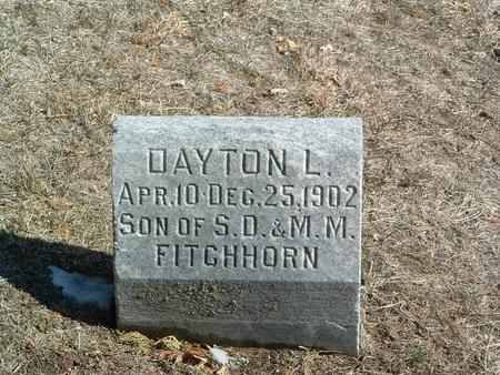 FITCHHORN, DAYTON L. - Mills County, Iowa | DAYTON L. FITCHHORN