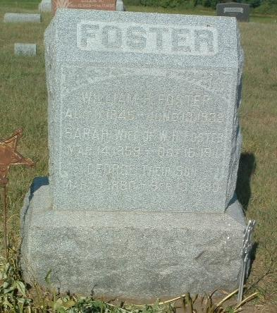 FOSTER, WILLIAM H. - Mills County, Iowa | WILLIAM H. FOSTER