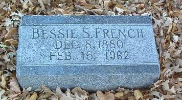 FRENCH, BESSIE S. - Mills County, Iowa | BESSIE S. FRENCH