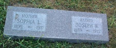FULLENWIDER, JOSEPH W. - Mills County, Iowa | JOSEPH W. FULLENWIDER