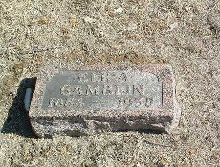 GAMBLIN, ELIZA - Mills County, Iowa | ELIZA GAMBLIN