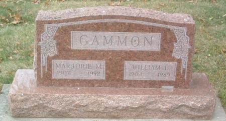 GAMMON, WILLIAM L. - Mills County, Iowa | WILLIAM L. GAMMON