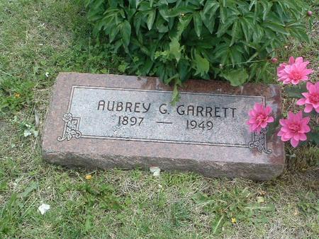 GARRETT, AUBREY G. - Mills County, Iowa | AUBREY G. GARRETT