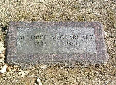 GEARHART, MILDRED M. - Mills County, Iowa | MILDRED M. GEARHART