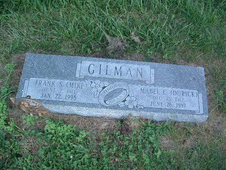 DURICK GILMAN, MABEL E. - Mills County, Iowa | MABEL E. DURICK GILMAN
