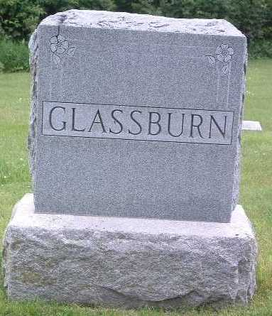 GLASSBURN, FAMILY HEADSTONE - Mills County, Iowa | FAMILY HEADSTONE GLASSBURN