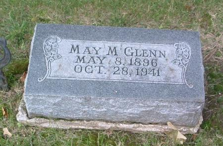 GLENN, MAY M. - Mills County, Iowa | MAY M. GLENN