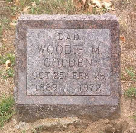 GOLDEN, WOODIE M. - Mills County, Iowa | WOODIE M. GOLDEN