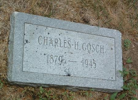 GOSCH, CHARLES H. - Mills County, Iowa | CHARLES H. GOSCH