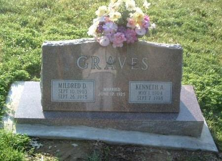 GRAVES, MILDRED D. - Mills County, Iowa | MILDRED D. GRAVES