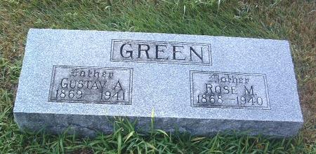 GREEN, GUSTAV A. - Mills County, Iowa | GUSTAV A. GREEN