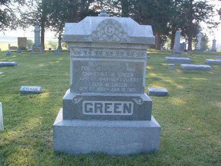 GREEN, LOUIS H. - Mills County, Iowa | LOUIS H. GREEN