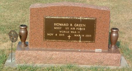 GREEN, HOWARD R. - Mills County, Iowa | HOWARD R. GREEN