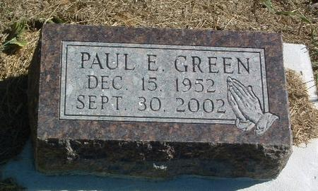 GREEN, PAUL E. - Mills County, Iowa | PAUL E. GREEN