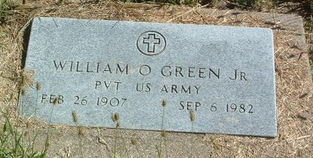 GREEN, WILLIAM O (JR.) - Mills County, Iowa | WILLIAM O (JR.) GREEN