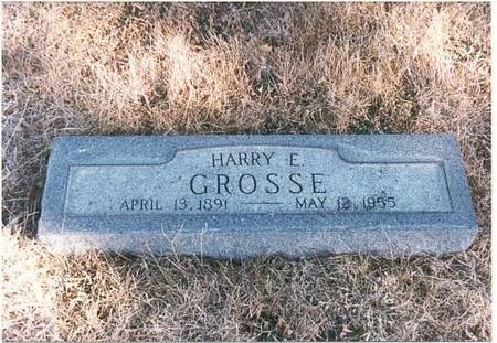 GROSSE, HARRY EARL - Mills County, Iowa | HARRY EARL GROSSE