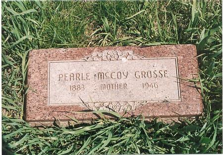 MCCOY GROSSE, PEARLE AMY - Mills County, Iowa | PEARLE AMY MCCOY GROSSE