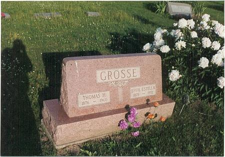 GROSSE, EFFIE ESTELLA - Mills County, Iowa | EFFIE ESTELLA GROSSE