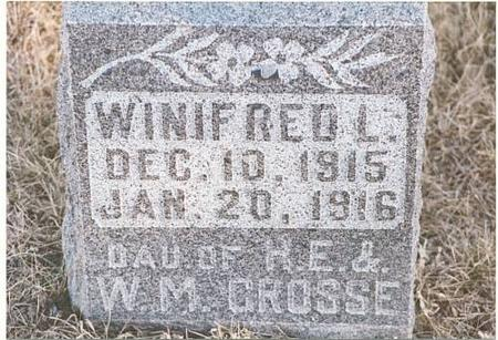 GROSSE, WINIFRED LOUISE - Mills County, Iowa | WINIFRED LOUISE GROSSE