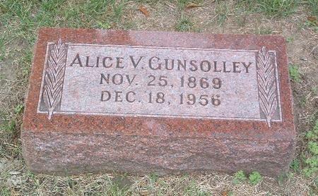 GUNSOLLEY, ALICE V. - Mills County, Iowa | ALICE V. GUNSOLLEY