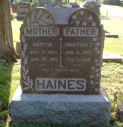 HAINES, MARTHA - Mills County, Iowa | MARTHA HAINES