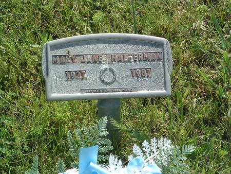 HALTERMAN, MARY JANE - Mills County, Iowa   MARY JANE HALTERMAN
