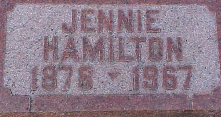HAMILTON, JENNIE - Mills County, Iowa | JENNIE HAMILTON