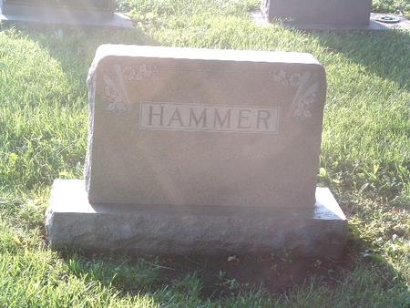 HAMMER, FAMILY HEADSTONE - Mills County, Iowa | FAMILY HEADSTONE HAMMER