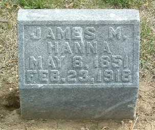 HANNA, JAMES M. - Mills County, Iowa | JAMES M. HANNA