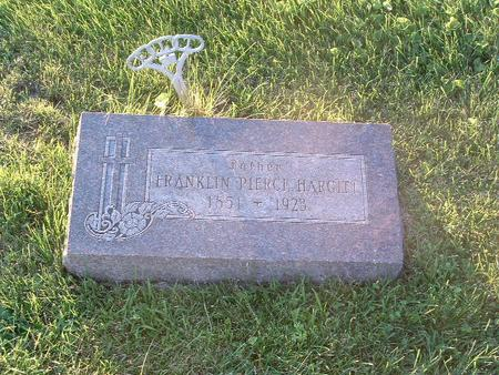 HARGITT, FRANKLIN PIERCE - Mills County, Iowa | FRANKLIN PIERCE HARGITT