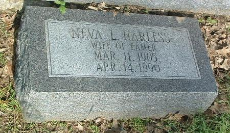 HARLESS, NEVA L. - Mills County, Iowa | NEVA L. HARLESS