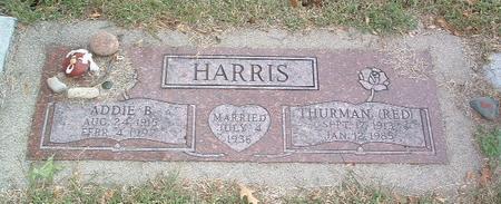 HARRIS, THURMAN (RED) - Mills County, Iowa | THURMAN (RED) HARRIS