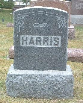 HARRIS, FAMILY HEADSTONE - Mills County, Iowa | FAMILY HEADSTONE HARRIS
