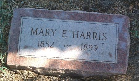 HARRIS, MARY E. - Mills County, Iowa | MARY E. HARRIS