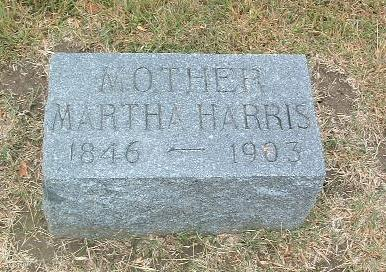 HARRIS, MARTHA - Mills County, Iowa | MARTHA HARRIS