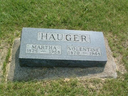 HAUGER, MARTHA - Mills County, Iowa | MARTHA HAUGER