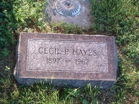 HAYES, CECIL P. - Mills County, Iowa | CECIL P. HAYES