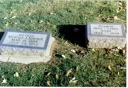 HAYNIE, MYRTLE IRENE - Mills County, Iowa | MYRTLE IRENE HAYNIE